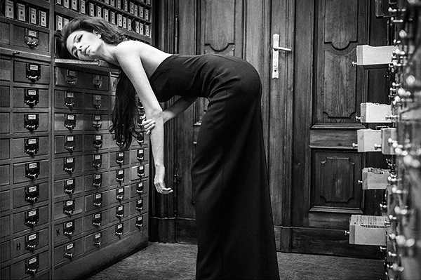 Biblioteka #10 fot. Szymon Brodziak